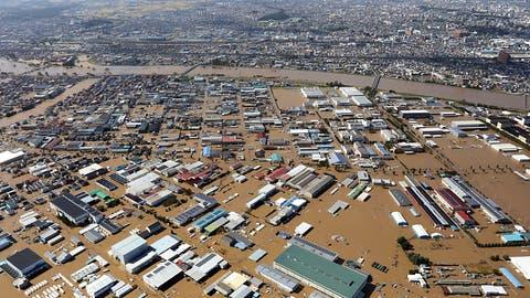 Mindestens 33 Tote durch Taifun in Japan - Viele Überschwemmungen