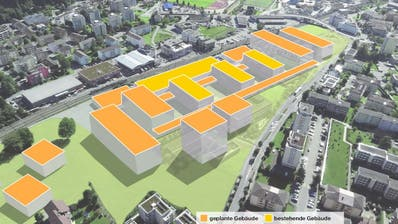 Der Campus an der Technikumstrasse in Horw soll für 365 Millionen Franken ausgebaut werden. (Bild: PD / Bearbeitung: Oliver Marx)