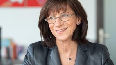 Heidi Hanselmann, St.Galler Regierungsrätin. (Bild: Urs Bucher)