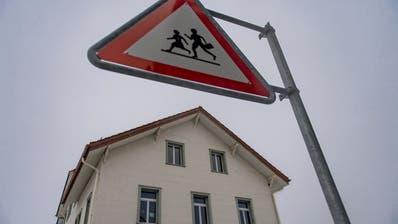 Das Schulhaus Otmar in Andwil. (Bild: Benjamin Manser (24. Januar 2019))