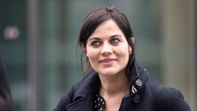 Die ehemalige Zuger Kantonsrätin Jolanda Spiess-Hegglin. (Bild: Urs Flüeler/Keystone)