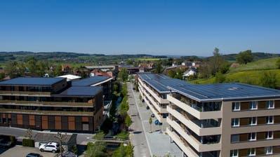 Die Überbauung Zentrum Tobel erhält den prestigeträchtigen Norman Foster Solar Award. (Bilder: PD)