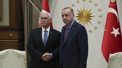 Nordsyrien-Konflikt: USA und Türkei einigen sich auf Waffenruhe