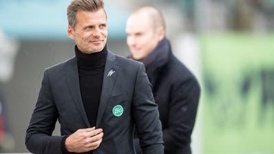 Der Sportchef des FC St. Gallen, Alain Sutter, bleibt den Espen für weitere zwei Jahren erhalten.(Bild: Benjamin Manser)