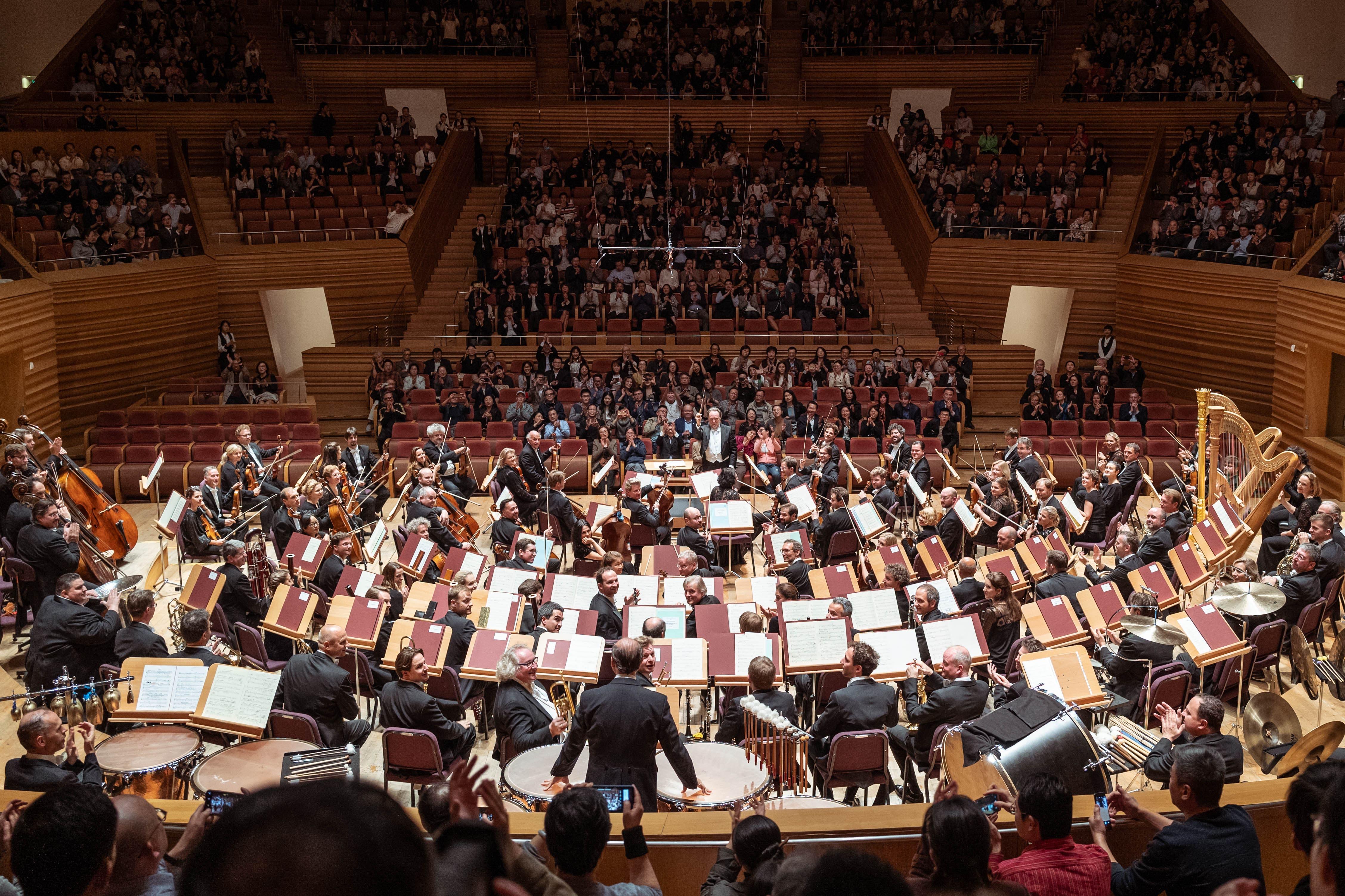 Ein Blick in die Shanghai Symphony Hall. (Bilder Geoffroy Schied/Lucerne Festival)
