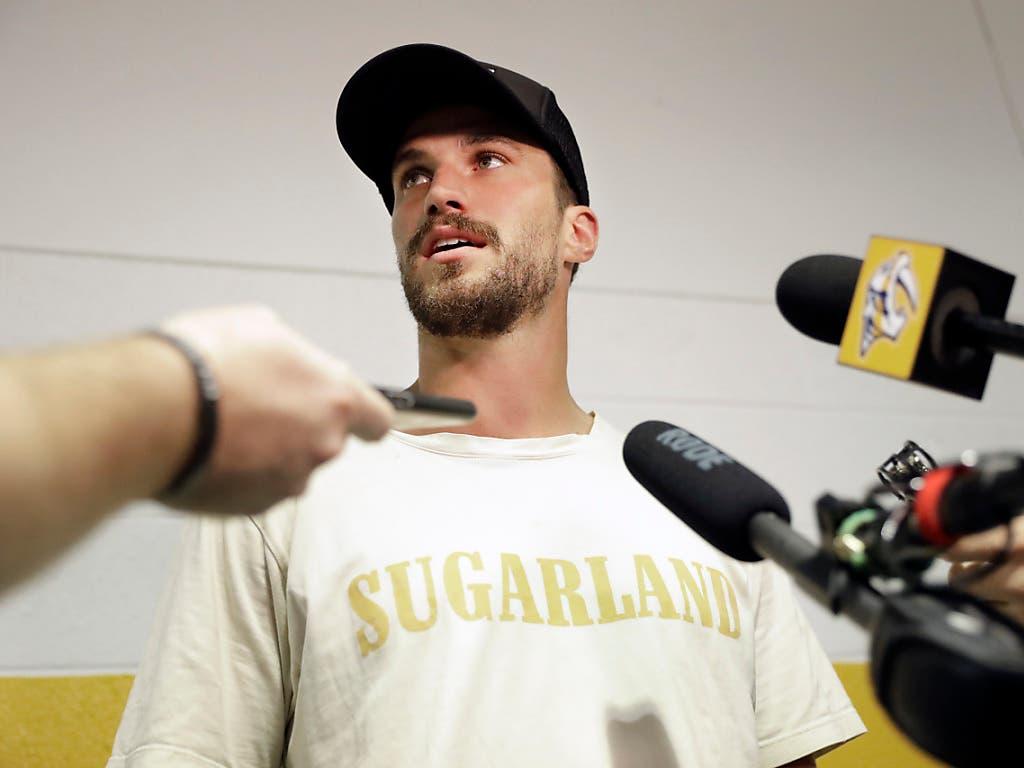 Roman Josi ist in der NHL überall ein gefragter Mann (Bild: KEYSTONE/AP/MARK HUMPHREY)