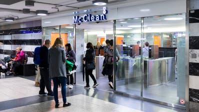 Ein neuer Anbieter kommt zum Zug: Die Toilettenbetreiberin McClean hat bei den SBB das Nachsehen. (Bild: Severin Bigler (Zürich, 2. Oktober 2019))