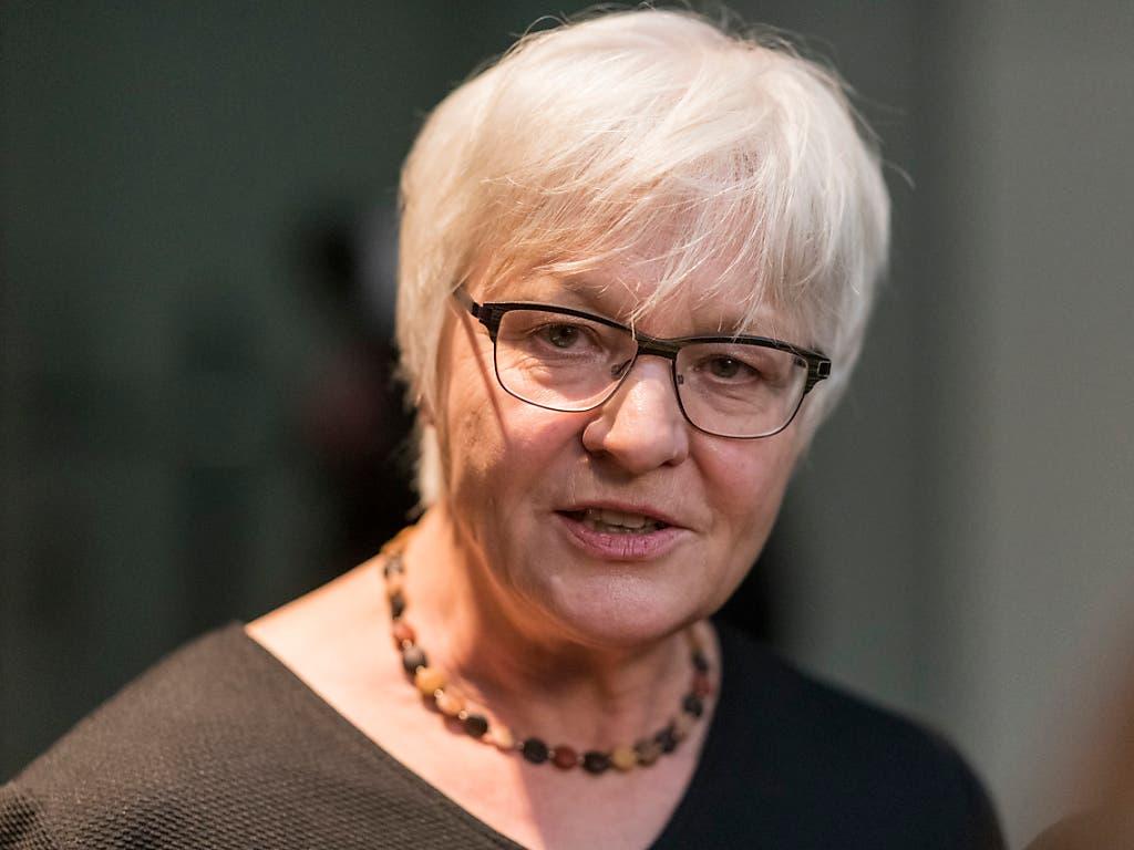 Die Wiederwahl von BDP-Fraktionschefin Rosmarie Quadranti in Zürich ist ungewiss. (Bild: KEYSTONE/ALESSANDRO DELLA VALLE)