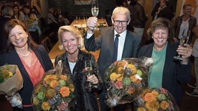 Die Luzerner CVP kann ihre Sitze im Nationalrat halten, GLP gewinnt ein Mandat