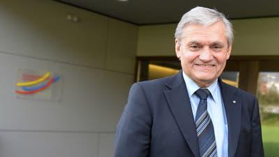 Fredi Himmelberger, Präsident der Sekundarschulgemeinde Hüttwilen. (Bild: Nana do Carmo)