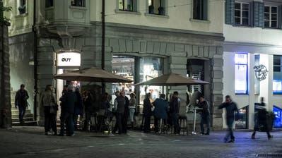 Während der Olma-Wochenenden zieht es immer zusätzliche Nachtschwärmer in die St.Galler Altstadt. (Bild: Hanspeter Schiess - 10. Oktober 2019)