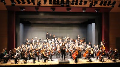 Das Symphonieorchester gastierte am Freitag im Casino Frauenfeld. (Bild: Manuela Olgiati)