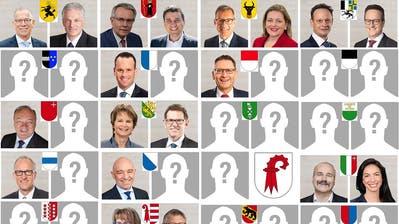 Ständeratswahlen: Das ist die Ausgangslage vor den zweiten Wahlgängen