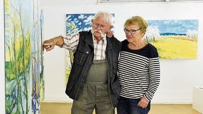 Das Künstlerpaar Hans und Kundry Niederhauser. (Bild: Donato Caspari)