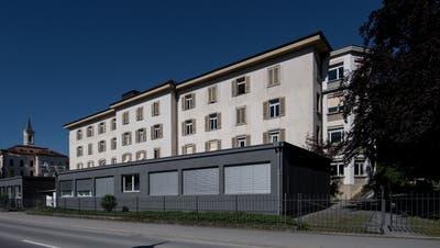 Aussenansicht des Psychiatrie-Gebäudes in Sarnen. (Bild: Pius Amrein, Sarnen, 23. Juni 2016)