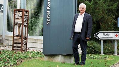 Stadtpräsident Thomas Müller findet es wichtig, dass die Notfallversorgung vor Ort bleibt. (Bild: siw)