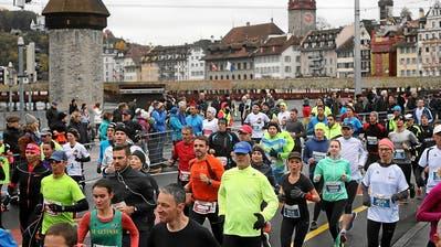 Swiss City Marathon in Luzern: Das müssen Sie als Läufer und Zuschauer wissen