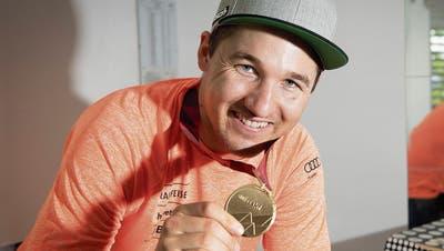 Skifahrer Cédric Nogerstartet spät durch: Die erste Weltcupsaison mit 27