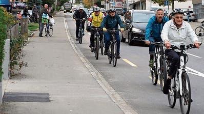 Auf der St. Gallerstrasse gab es auch dieses Jahr schwere Unfälle mit Velofahrern. (Bild: Johannes Wey)