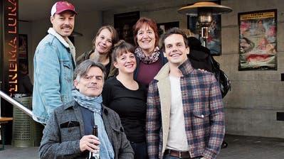Der Luna-Vorstand (v. l.): Präsident Beat Oswald, Mitbegründer Christof Stillhard, Martina Braun, Noemi Signer, Manuela Florentin und Fabio Schönholzer. (Bild: Manuela Olgiati)