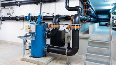 Nutzungsstation mit Filteranlage der Seewassernutzung Romanshorn. (Bild: PD)