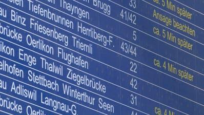 So wollen die SBB ihre Passagiere pünktlicher ans Ziel bringen