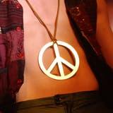 Peace zum Umhängen. (Bild: Susann Basler, 2010)