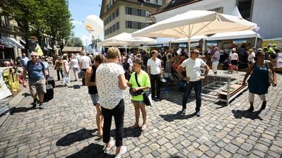 «Die Stärkung des gesellschaftlichen Zusammenhaltes und der gute Zweck» sollen im im Zentrum des neuen Luzerner Fests stehen. (Bild: Nadia Schärli, Luzern, 24. Juni 2017)