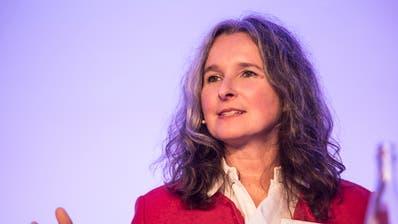 Nationalrätin Yvette Estermann. (Bild:Manuela Jans-Koch, Luzern, 8. November 2018)