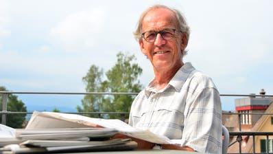 Der 69-jährige Peter Gubser ist eine Kämpfernatur und stellt sich auch dieser Herausforderung. (Bild: Max Eichenberger)