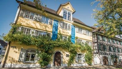 Das Bodman-Literaturhaus Gottlieben wurde in Literaturhaus Thurgau umbenannt. (Bild: Reto Martin)