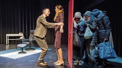 Das Theater Bagasch bei der Generalprobe. (Bilder: Nadia Schärli, Luzern, 29. Oktober 2019)