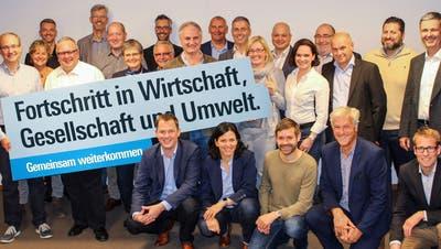 Als erste Partei im Bezirk stellt die FDP ihre Kandidatinnen und Kandaten für die Grossratswahlen 2020 vor. (Bild: PD)