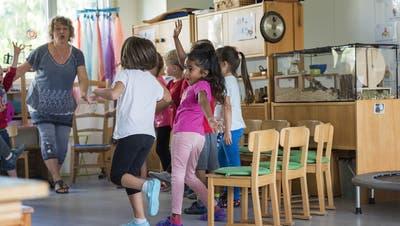 Die Entlöhnung der Pausenaufsicht in St.Galler Kindergärten wird ein Fall für die Verwaltungsrichter. (Symbolbild: Keystone)