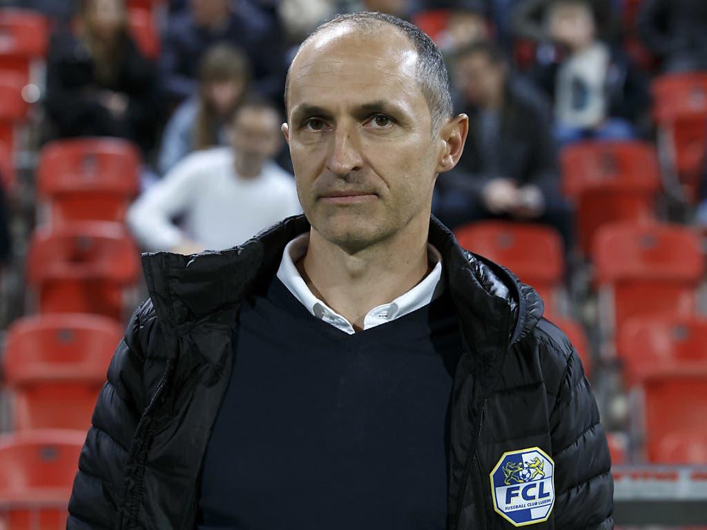FCL-Coach Thomas Häberli erhielt mit den Grasshoppers keine einfache Aufgabe zugelost (Bild: KEYSTONE/SALVATORE DI NOLFI)