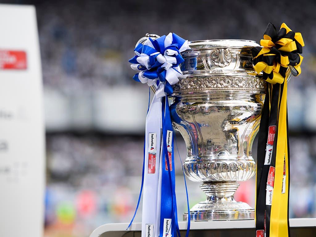 Die Young Boys bekommen es auf dem Weg zur Cup-Trophäe als nächstes mit dem FC Luzern zu tun. (Bild: KEYSTONE/ANTHONY ANEX)