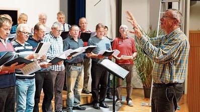 Geteilter Gesang ist doppelter Gesang: Männerchöre Häggenschwil und Waldkirch treten gemeinsam auf