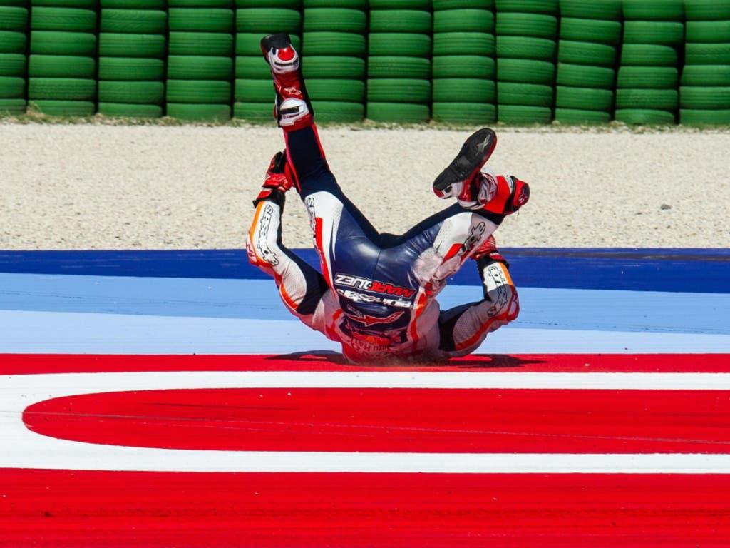 Marc Marquez ist nach einem schmerzhaften Sturz wieder einsatzfähig (Bild: KEYSTONE/EPA ANSA/ALESSIO MARINI)