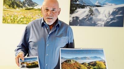 Die schönsten Sujet findet der Buchser Fotograf Werner Legler vor seiner Haustür