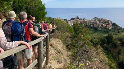 Wandern in der Cinque Terre. (Bild: Christa Kamm-Sager)