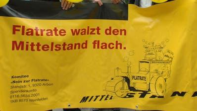 In Arbon hat sich bereits ein Anti-Flatrate-Komitee gegründet. (Bild: Nana do Carmo, 24.August 2007)