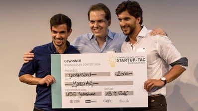 Ein Referat am ersten Startup-Tag Zentralschweiz im September 2016. (Bild: PD)