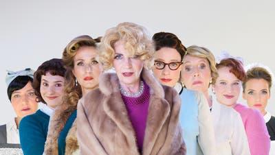 Die Protagonistinnen des Stücks «Acht Frauen». (Bild: Hermann Posch/PD)