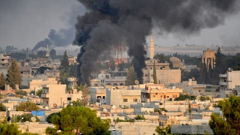 Die Türkei hat ihre «Operation Friedensquelle» gestern gestartet: Mit einem Angriff auf die syrische Stadt Ras al-Ain. (Bild: Getty Images)