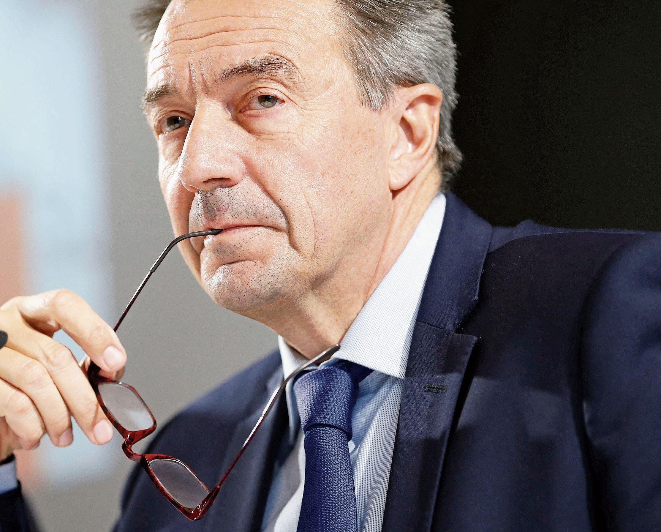 «Ich werde nicht immer mit offenen Armen empfangen»: IKRK-Präsident Peter Maurer. (Bild: Denis Balibouse/Reuters)