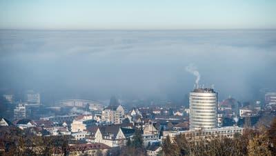 Blick Richtung Silberturm und St. Fiden: Hier sieht der Stadtpräsident Potenzial für einen «Medtech-Cluster». (Bild: Urs Bucher)