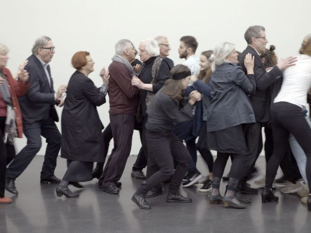 Isoliert in der Menge: «Faux Terrain» von Clemens von Wedemeyer. (Bild: Kunstmuseum Luzern)