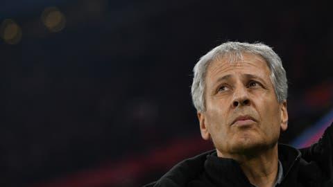 Schwer unter Druck: Borussia-Trainer Lucien Favre (Bild: key).