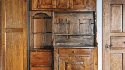 Birwinken, Klarsreuti 36: Vielzeckbauernhaus, einst mit der Gastwirtschaft Zur Krone, erbaut vermutlich im 18. Jahrhundert:.... (Bild: Regine Abegg 2016, Amt für Denkmalpflege Thurgau)