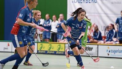 Zugs Noemi Kistler erzielte gegen die Bernerinnen ein Tor. (Archivbild: Maria Schmid, Zug, 3. November 2019)
